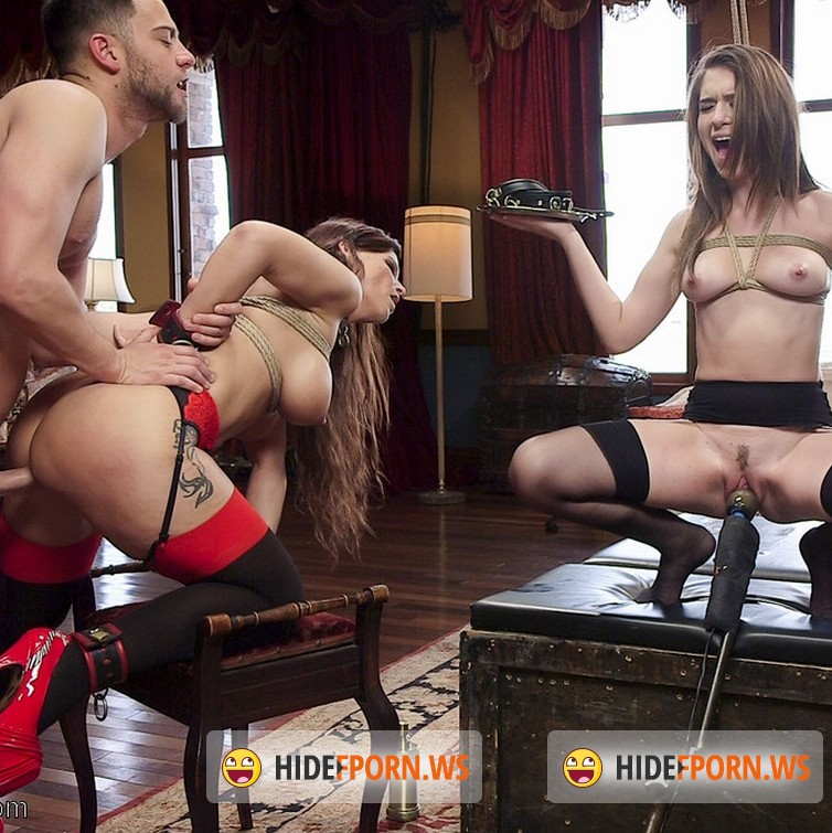 TheupperFloor.com/Kink.com: Syren de Mer, Joseline Kelly - Family Traditions: Anal MILF Step-Mother Trains Sons Bride [SD 540p]