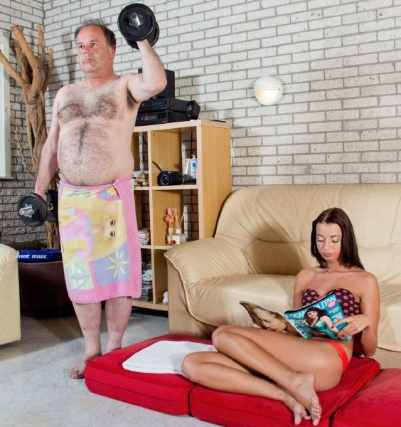 BeautyAndTheSenior.com - Leyla And Eric - Teen Fuck Old Man [HD 720p]