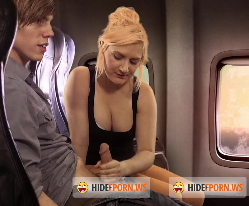 Clips4sale.com - Amateur - Airplane Handjob [HD 720p]