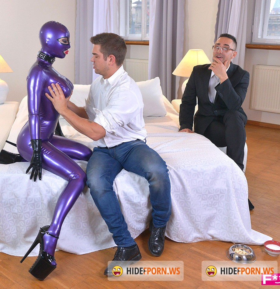 FuckinHD.com - Latex Lucy - Latex Spanking Therapy, Part 1 [HD 720p]