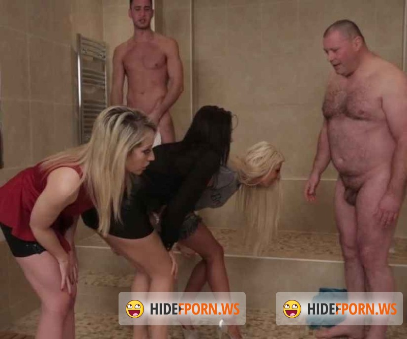 HeyLittleDick.com -  Brooklyn Blue, Carla Mai, Chessie Kay  - Whos Got The Biggest? [HD 720p]