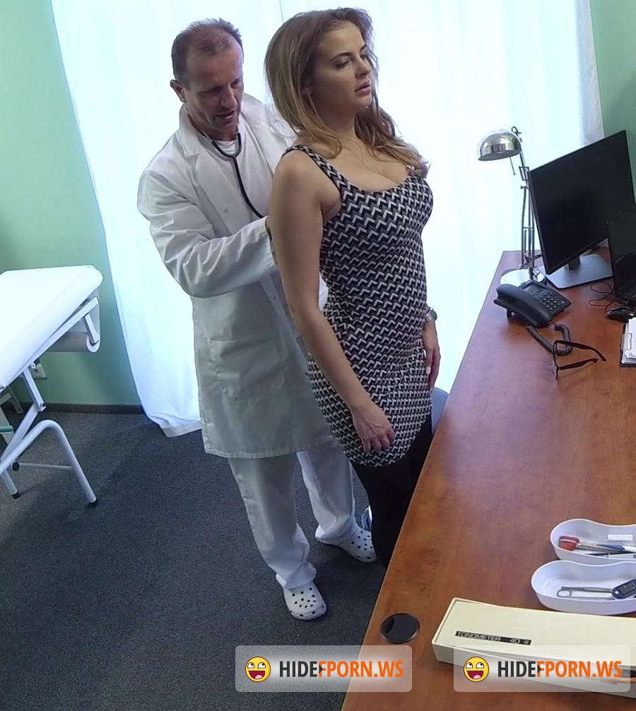 Hospital: Candy Alexa - Big Tits Babe Has a Back Problem [FullHD 1080p]
