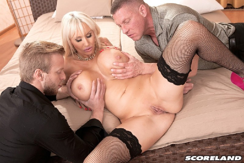 Scoreland.com/PornMegaLoad.com - Sandra Star - Three The Hard Way [FullHD 1080p]