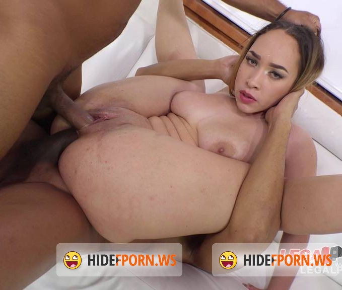 .LegalPorno.com - Briana Bounce - Big butt slut Briana Bounce interracial DAP with 3 cocks RS214 [SD]