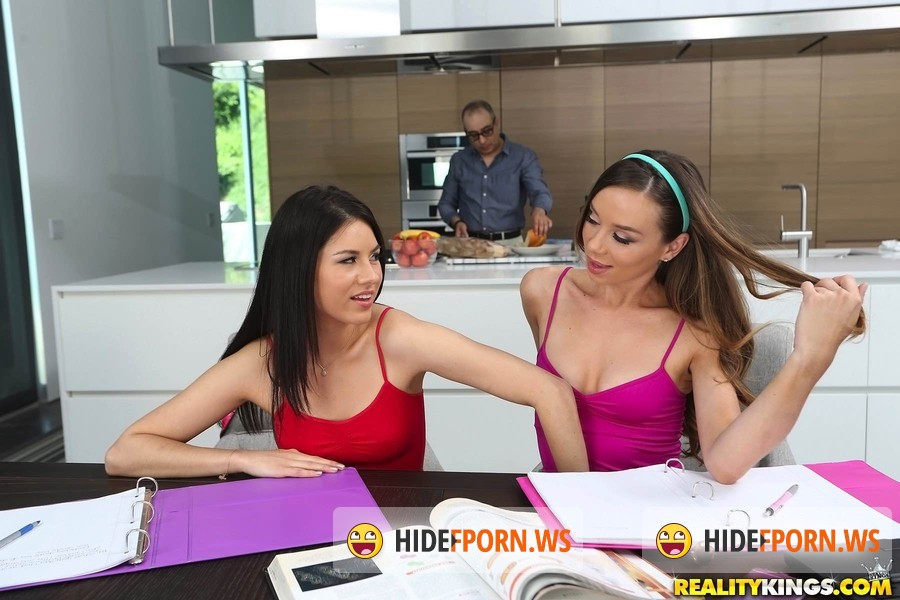 Together Sex: Capri Anderson, Alexis Capri, Shyla Jennings - Study session [FullHD 1080p]