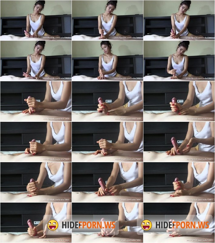 Clips4sale.com - Girl Katsumi - Side View Handjob 2 [HD 720p]