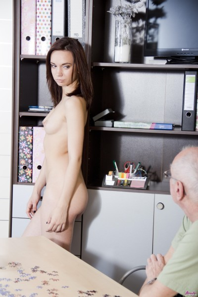 BeautyAndTheSenior.com - Shafry - Teen Love Fuck With Old Man [HD 720p]
