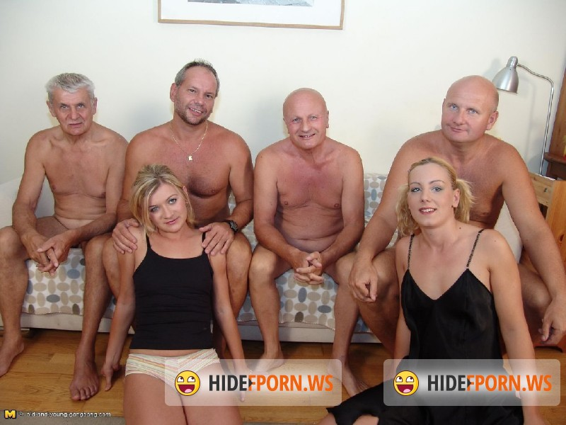 Old-And-Young-Gangbang.com/Mature.nl - Iva K.(22), Marina(21) - Alex25G [SD 288p]