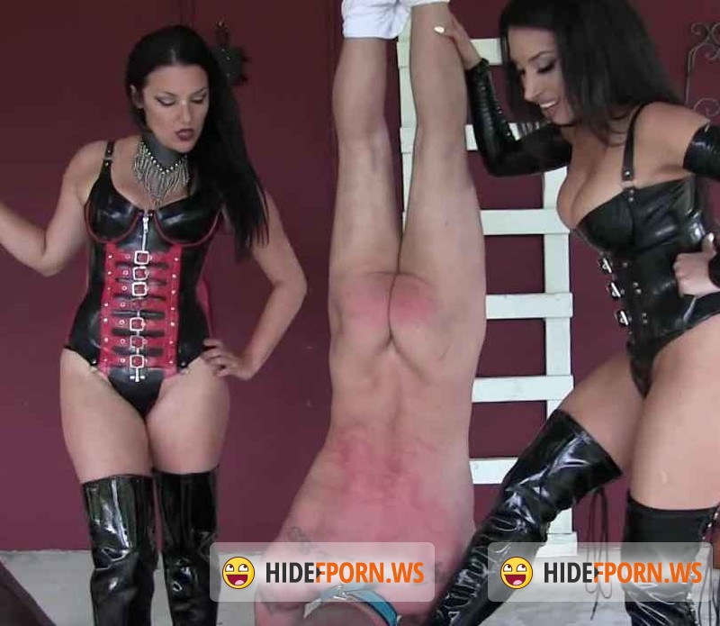 ClubDom.com - Mistress Michelle - Runaway slaves First Whipping [HD 720p]