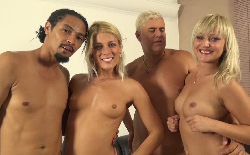 ImmoralLive.com/MyXXXPass.com - Katy Rose, Sweet Cat - Black Meat Shaft Shared By Two Luscious Blondes [HD 720p]