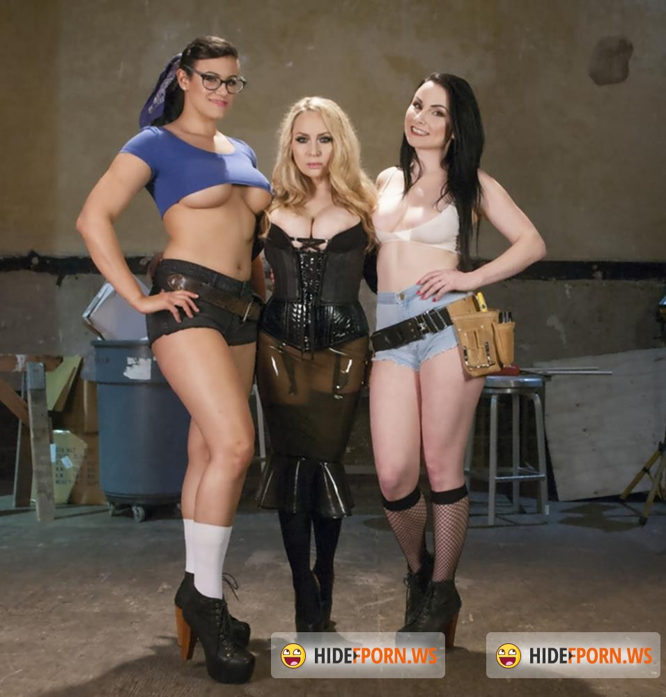 EveryThingButt/Kink - Penny Barber, Aiden Starr, Veruca James - From Carpenters to Lesbians, Aiden Starr makes a lot of things [HD 720p]