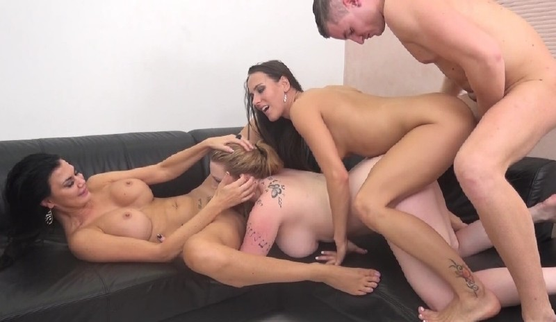 ImmoralLive.com/MyXXXPass.com - Mea Melone, Jasmine Jae, Harmony Reigns - Breakdancing For 3 Wet Pussies [HD 720p]