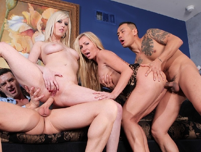 DevilsFilm.com - Lisa DeMarco, Cherry Torn - We Are Fucking With Our Neighbors 2, Scene 4 [FullHD 1080p]