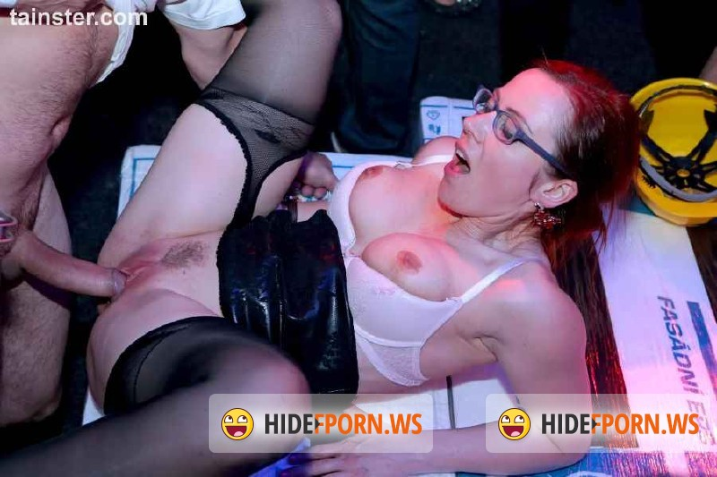 DrunkSexOrgy.com/Tainster.com -  Angel Piaf aka Chaynee, Barra Brass, Bibi Fox, Chelsy Sun, Eileen Sue, Eveline Dellai - COCKS N CLITS Construction Company Part 2 - Main Edit  [HD 720p]