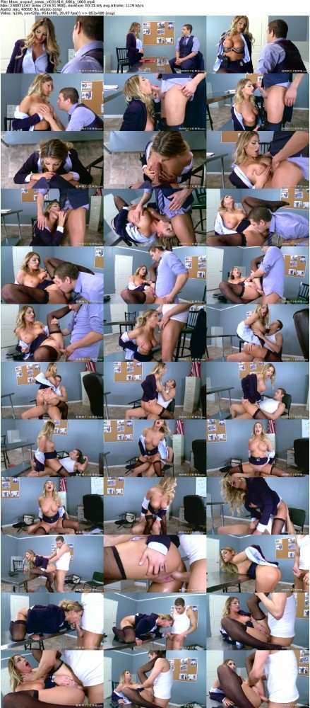BigTitsAtWork.com/Brazzers.com - August Ames - Confidential Informant [SD]