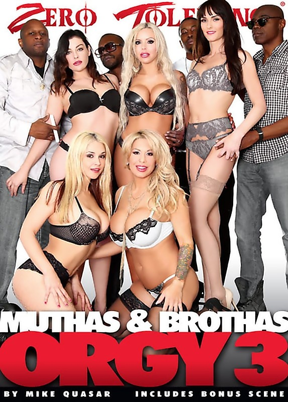 Muthas And Brothas Orgy 3 [2016/DVDRip]