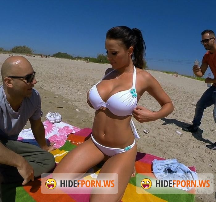 PublicBang.com/BangBros.com - Patty Michova - Fucking at the Nude beach! [FullHD 1080p]