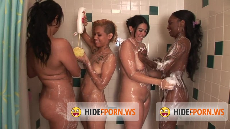 RaunchyGFSHD.com - Amateurs - Lathered Up Ladies [HD 720p]