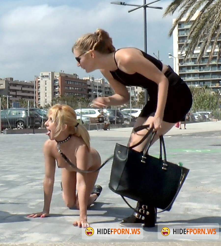PublicDisgrace/Kink - Nick Moreno, Mona Wales, Chiki Dulce - Beach Babe Covered in Filth and Used Like a Public Trashcan [HD 720p]