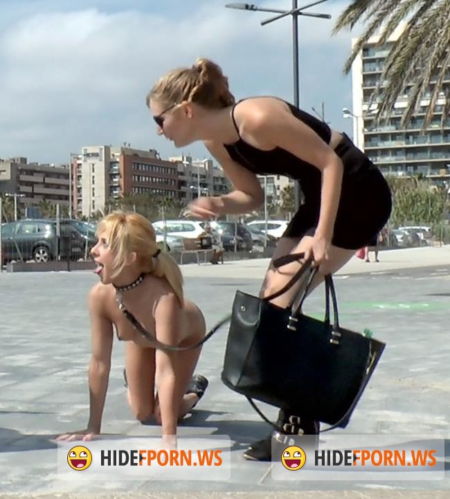 PublicDisgrace.com/Kink.com: Mona Wales, Chiki Dulce - Beach Babe Covered in Filth and Used Like a Public Trashcan [SD 540p]