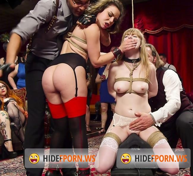 TheupperFloor.com/Kink.com: Mickey Mod, Juliette March, Dolly Leigh - Virginal Pussy Slave Fucked For First Time on Camera [SD 540p]
