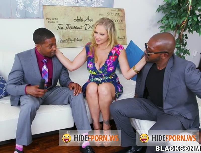 BlacksOnMoms.com - Julia Ann - Julia Ann Wins Three Big Prizes [SD 480p]