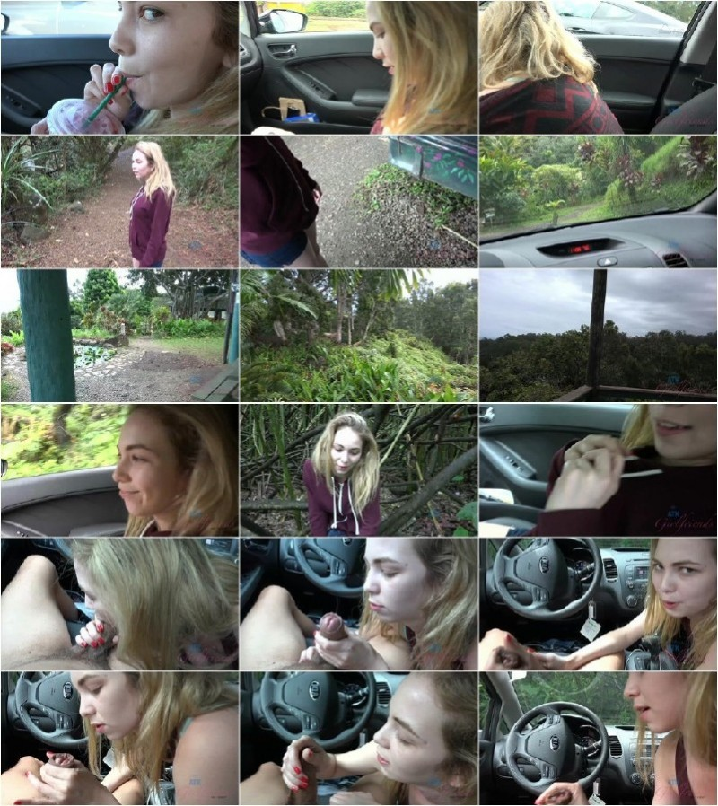 AtkGirlfriends.com - Angel Smalls - The handjob in the car felt really dirty [FullHD 1080p]
