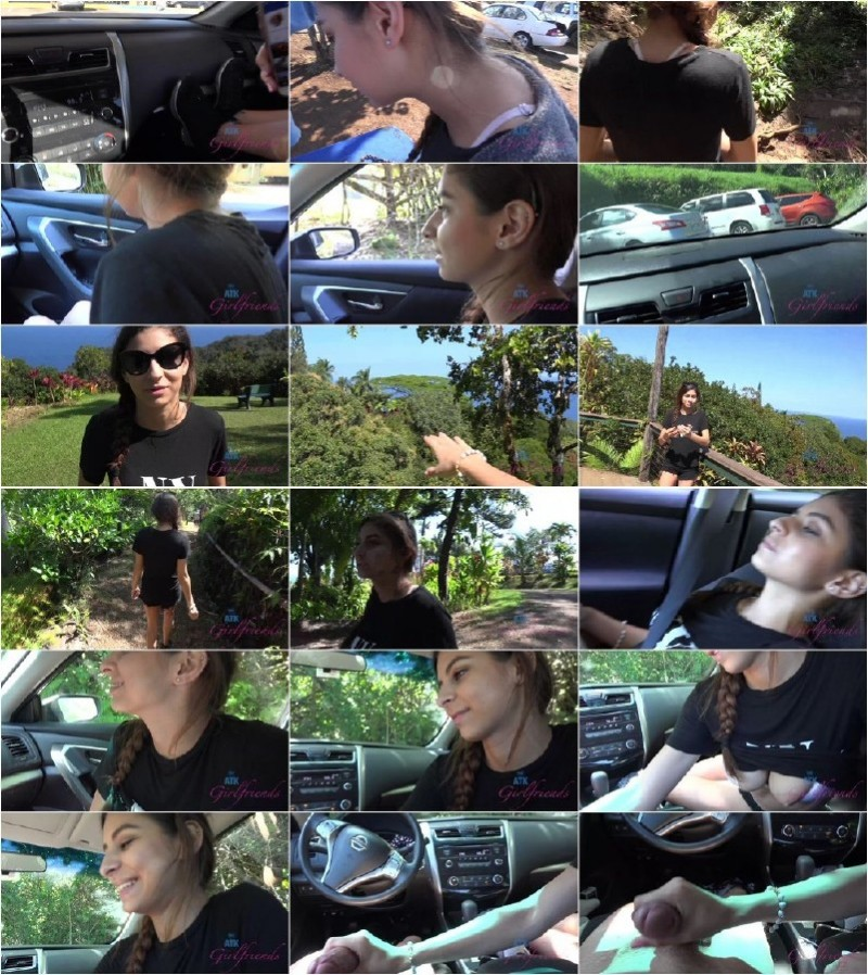 AtkGirlfriends.com - Nina North - The road trip was complete with the handjob in the parked car [4K]