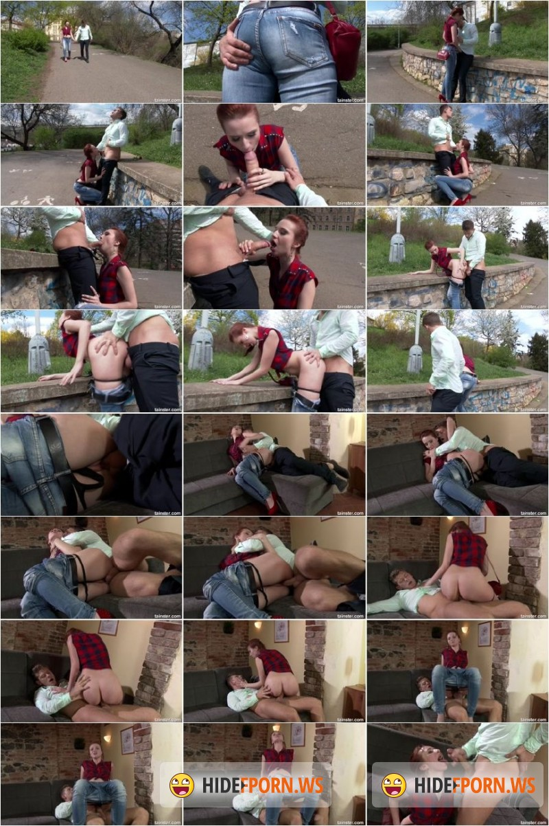 FullyClothedSex.com/Tainster.com - Chelsy Sun - Incredible Chelsey seduces a stranger in a park  [FullHD 1080p]