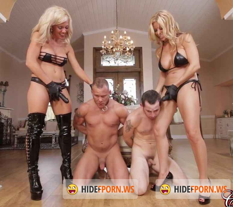 C1ubD0m.com -  Alexis Fawx  - Sex Slave For Blondes Part 5: Strap-on [HD 720p]