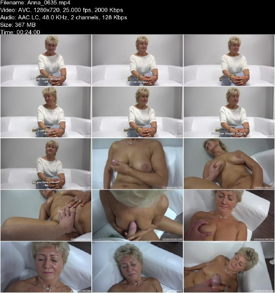 CzechCasting.com - Anna - Old Milf On Casting [HD 720p]