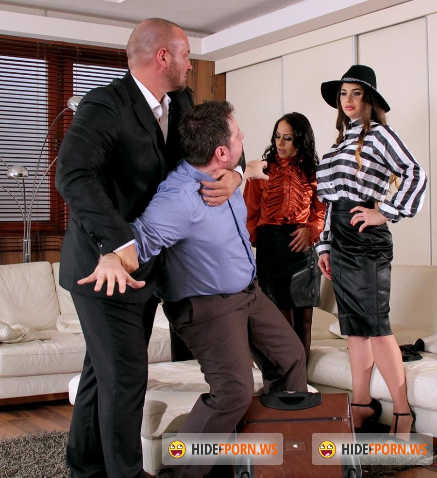 SDrive: Cathy Heaven, Nomi Melone  - Mobsters, Cash and Pervy Payback: Vengeful and Big Titty Godmother Goes Insane For A Fist Fuck Outburst Of Fury [HD 720p]