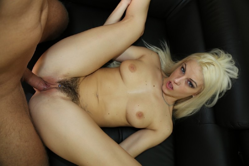 MagmaFilm.com - Blanche Bradburry - Picking Up A Hairy Hottie [SD]