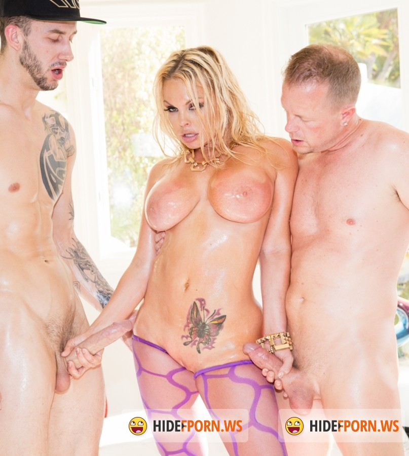 JulesJordan - Chris Strokes, Jesse, Jules Jordan - Jesse Gets Oiled Down and Torn Up By Jules Jordan and Chris Strokes [FullHD]