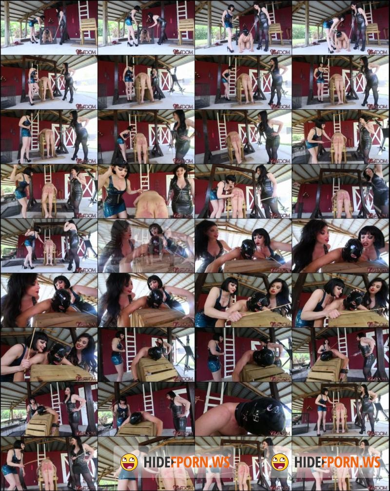 ClubDom.com: Jean Bardot, Lydia Supremacy - Brutal Immobiile Caning By the Guardesses [FullHD 1080p]