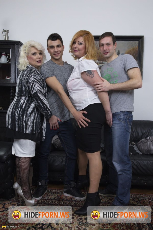 Mature.nl: Sofia (54), Alex (36) - Keep your eyes open for this hot mature groupsession, where everybody plays with everybody! [HD 720p]