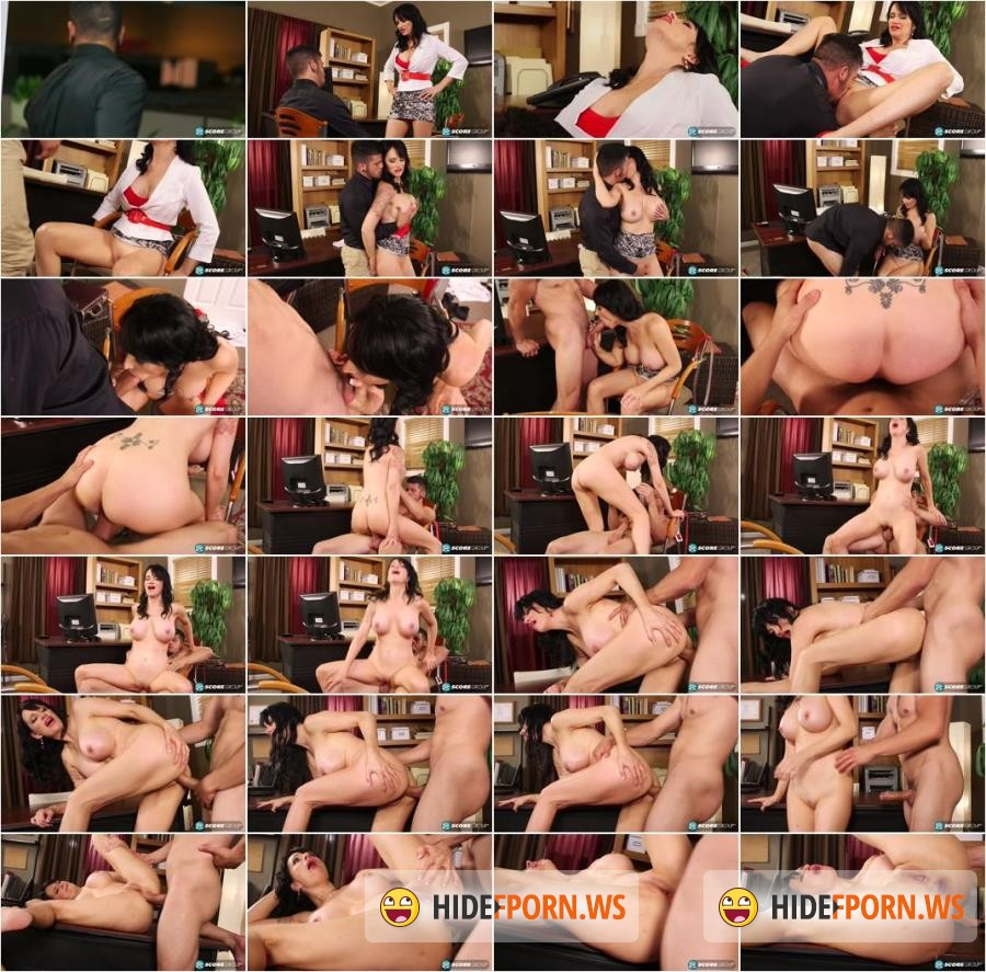 ScoreHD.com/40SomethingMag.com - Angie Noir - Fuck the bosss ass youre fired! [SD 480p]