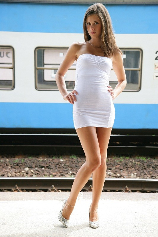 Watch4Beauty.com - Little Caprice - Train Stop [HD 720p]