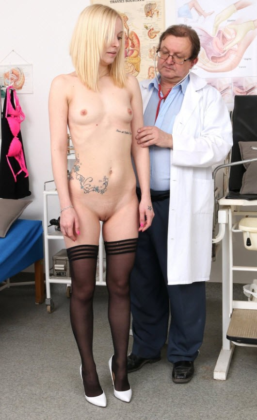 FreakyDoctor.com - Mina - 19 years girls gyno exam [HD 720p]