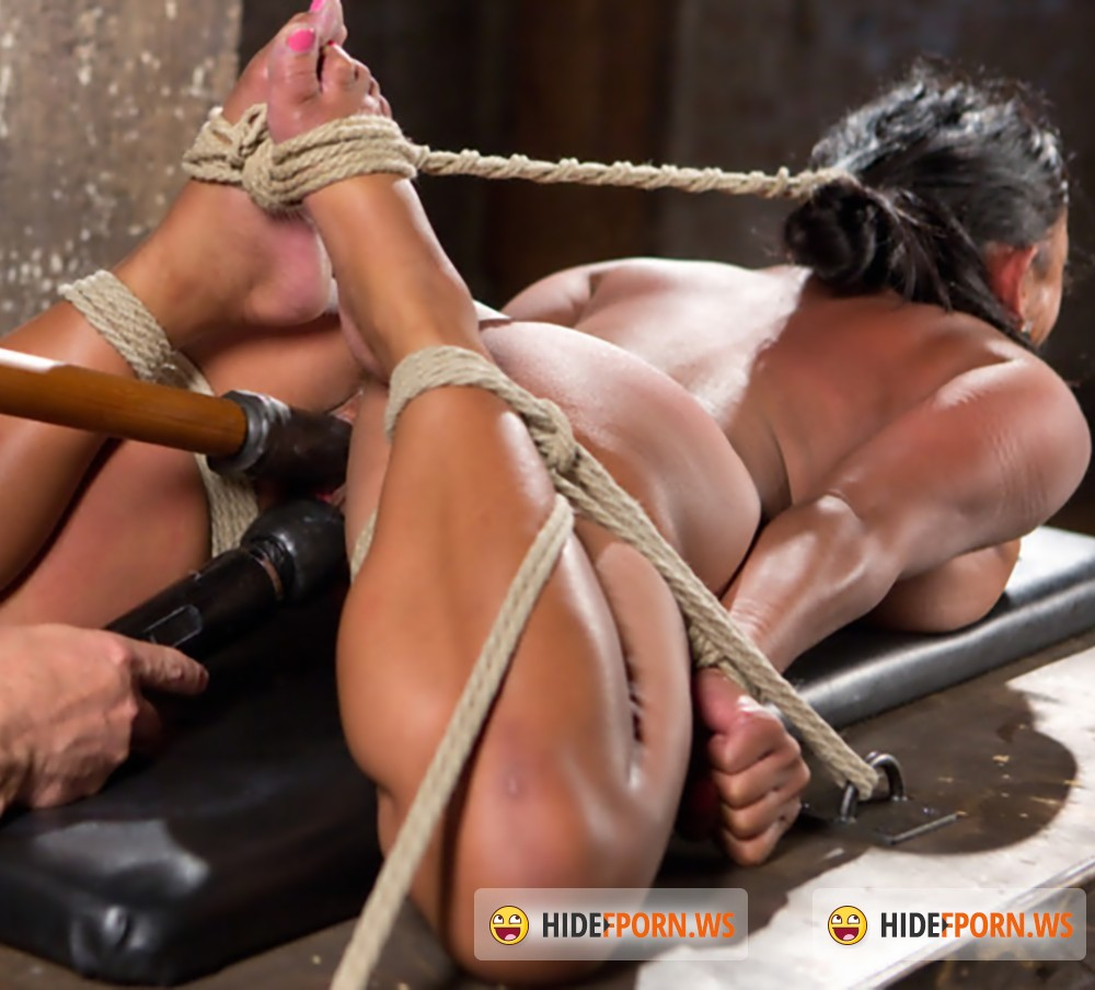 HogTied/Kink - Maxine X - Big Tits Bound, Tormented Body, and Pussy and Face Fucked [HD 720p]