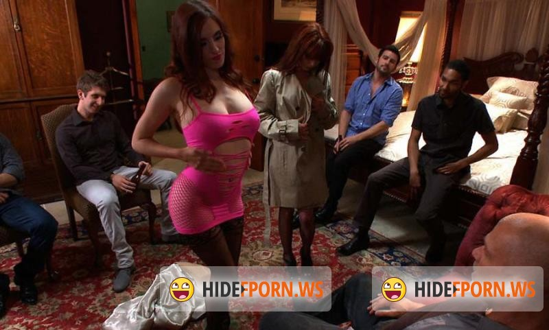 BoundGangBangs.com/Kink.com - Beretta James - Hot Fiance Spies on her Grooms Bachelor Party and Gets Punished [HD 720p]