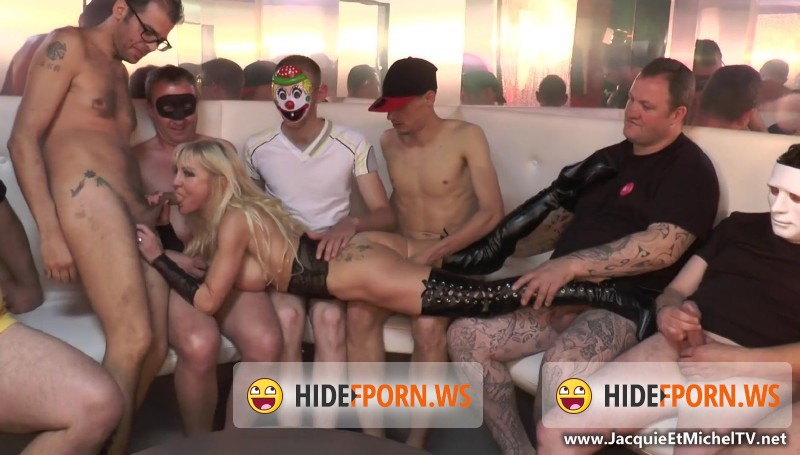 JacquieEtMichelTV.net - Therese - Therese, bukkake monstre a La Tentation ! [FullHD 1080p]