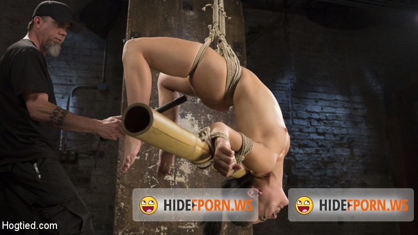 HogTied.com/Kink.com: Kristina Rose - Feisty Latina is Captured in Grueling Bondage, Tormented, and Ass Fucked [SD 540p]