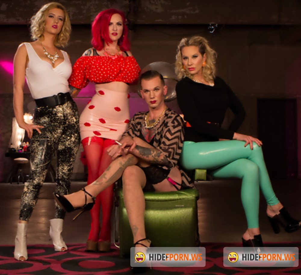 DivineBitches/Kink - Maitresse Madeline Marlowe , Will Havoc, Cherry Torn, Mz Berlin - Beauty School Dropout [HD 720p]