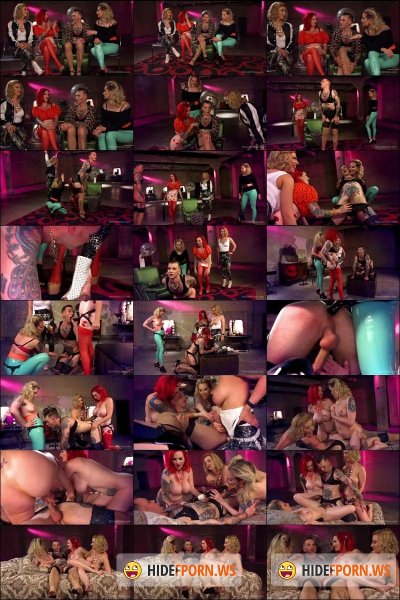 DivineBitches.com/Kink.com: Maitresse Madeline Marlowe , Will Havoc, Cherry Torn, Mz Berlin - Beauty School Dropout [SD 540p]