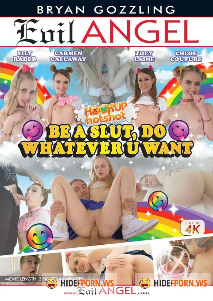 Hookup Hotshot: Be A Slut Do Whatever U Want [DVDRip]