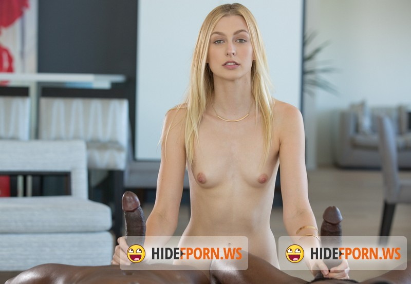 Blacked.com - Alexa Grace - Shy Blond Girlfriend First Threesome With Black Men [HD 720p]