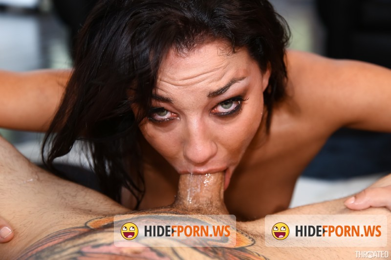 Throated.com/MyXXXPass.com -  Amara Romani, Small Hands  - Balls Deep On Amara Romanis Throat [SD 544p]