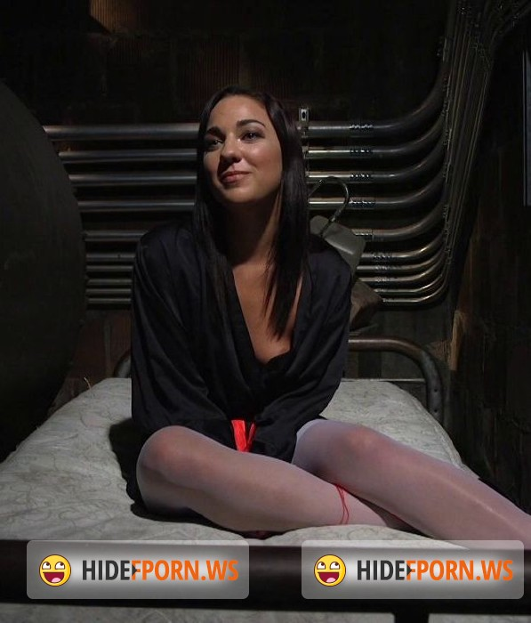 HardcoreGangBang.com/Kink.com - Amara Romani - Dirty basement whore relentlessly fucked with 5 dicks! [HD]