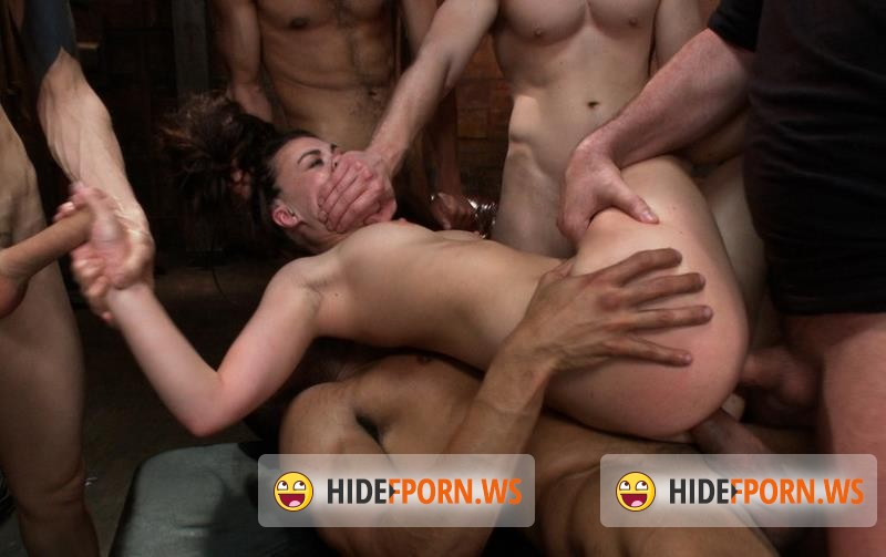 BoundGangBangs.com/Kink.com - Tiffany Doll - Gorgeous French Girl Taken Down in Rough Gangbang [HD 720p]